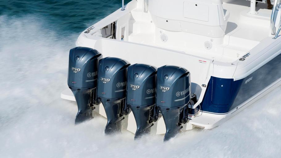 Used Yamaha  Boat Motor